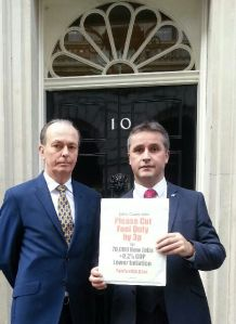 AB MacNeil MP Quentin Willson FairFuel UK