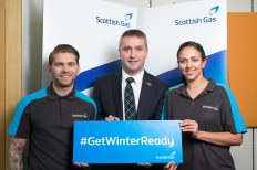 Mr MacNeil attending a reception at the House of Commons hosted by Scottish Gas to launch the #GetWinterReady campaign