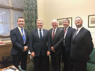 Meeting with Immigration Minister Brandon Lewis 22 Nov 2017