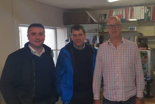 John Glen visit to Barra 28 Aug 18