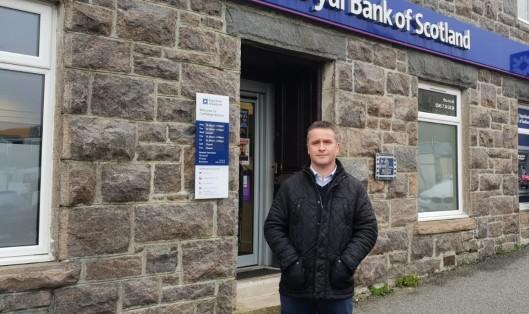 Angus RBS Castlebay branch